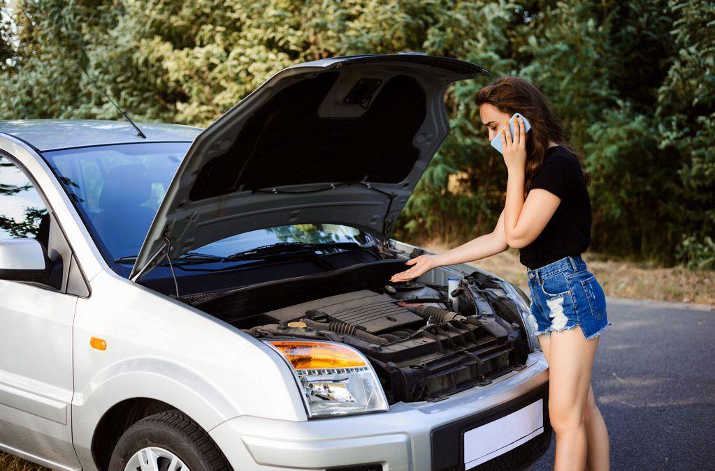 Si se quema mi coche, ¿qué hago?
